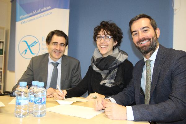 la federacin de asociaciones de celiacos de espaa colaborar en el mster en industria alimentaria de cesif
