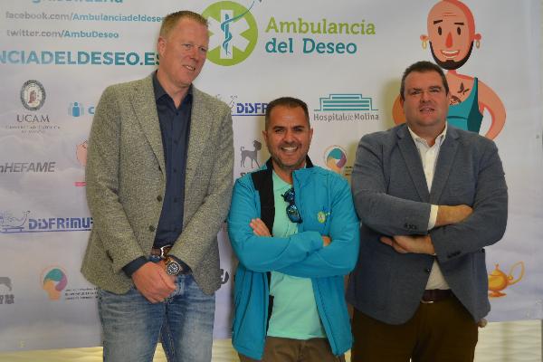 fundacion hefame colabora con ambulancia del deseo