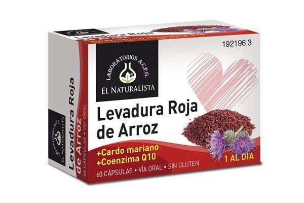 levadura roja de arroz el naturalista la ayuda para mantener el colesterol a raya