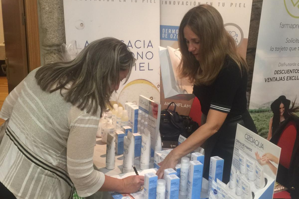 ozoaqua presenta sus novedades en la convencin de cofano
