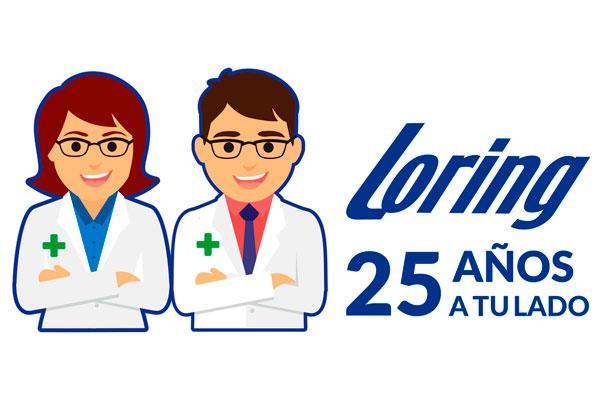 productos loring celebra sus 25 anos en la farmacia con novedades muy especiales