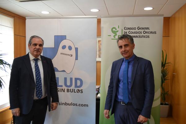saludsinbulos y el ccgof se alian para combatir las fake news sobre farmacos