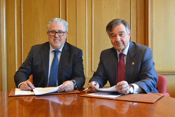 bancofar y el cof de madrid firman un convenio de colaboracion financiera