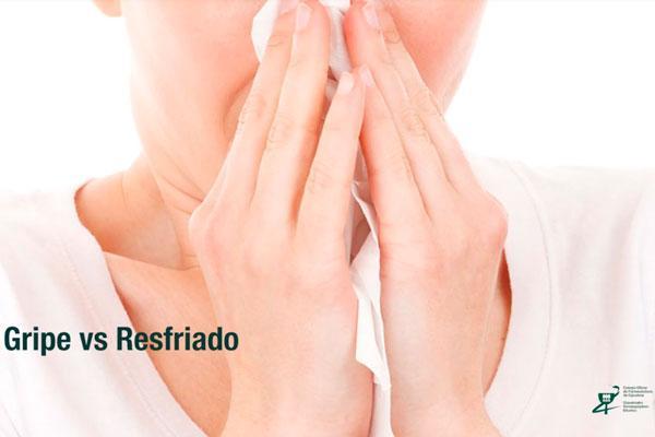 diferencias entre gripe y resfriado por el cof de guipzcoa