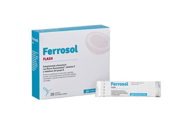 ferrosol flash eficacia frente a la carencia de hierro en las adolescentes