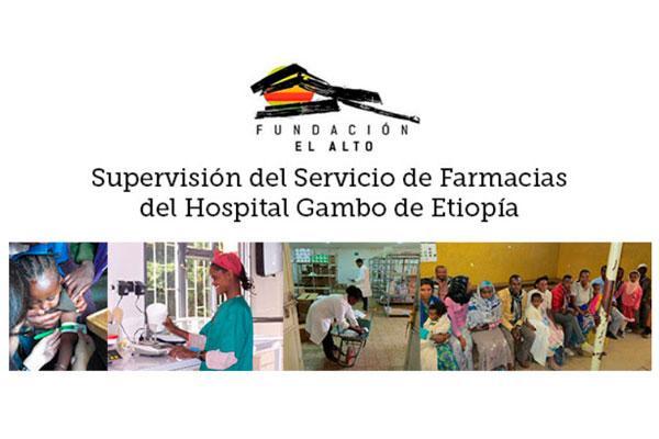 infarma solidario recaudara fondos para mejorar el servicio de farmacia del hospital de gambo en etiopia