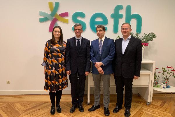 la sefh y la ashp se unen para impulsar mejores practicas en farmacia hospitalaria entre espana y usa