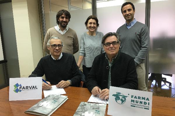 la asociacion empresarial de farmaceuticos valencianos y farmamundi suman esfuerzos en defensa de la salud global