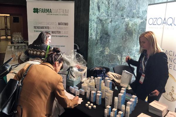 grupo quatrium acerca sus servicios 360 en gestion de farmacias y la dermocosmetica de ozono a los profesionales asturianos