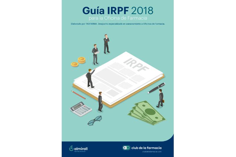 ya est disponible la gua irpf 2018 para la oficina de farmacia