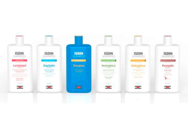isdin shampoo la nueva gama que cuida y trata todo tipo de cabello