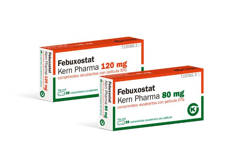 kern pharma amplia su vademecum de genericos con febuxostat kern pharma efg