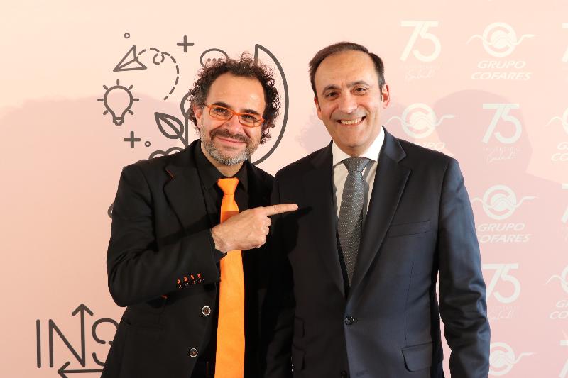 el mago more invita a aprovechar las nuevas oportunidades en el encuentro inspiring cofares de valencia