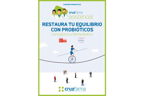 la-sexta-campana-de-cruzfarma-asistencial-se-centra-en-los-probioticos