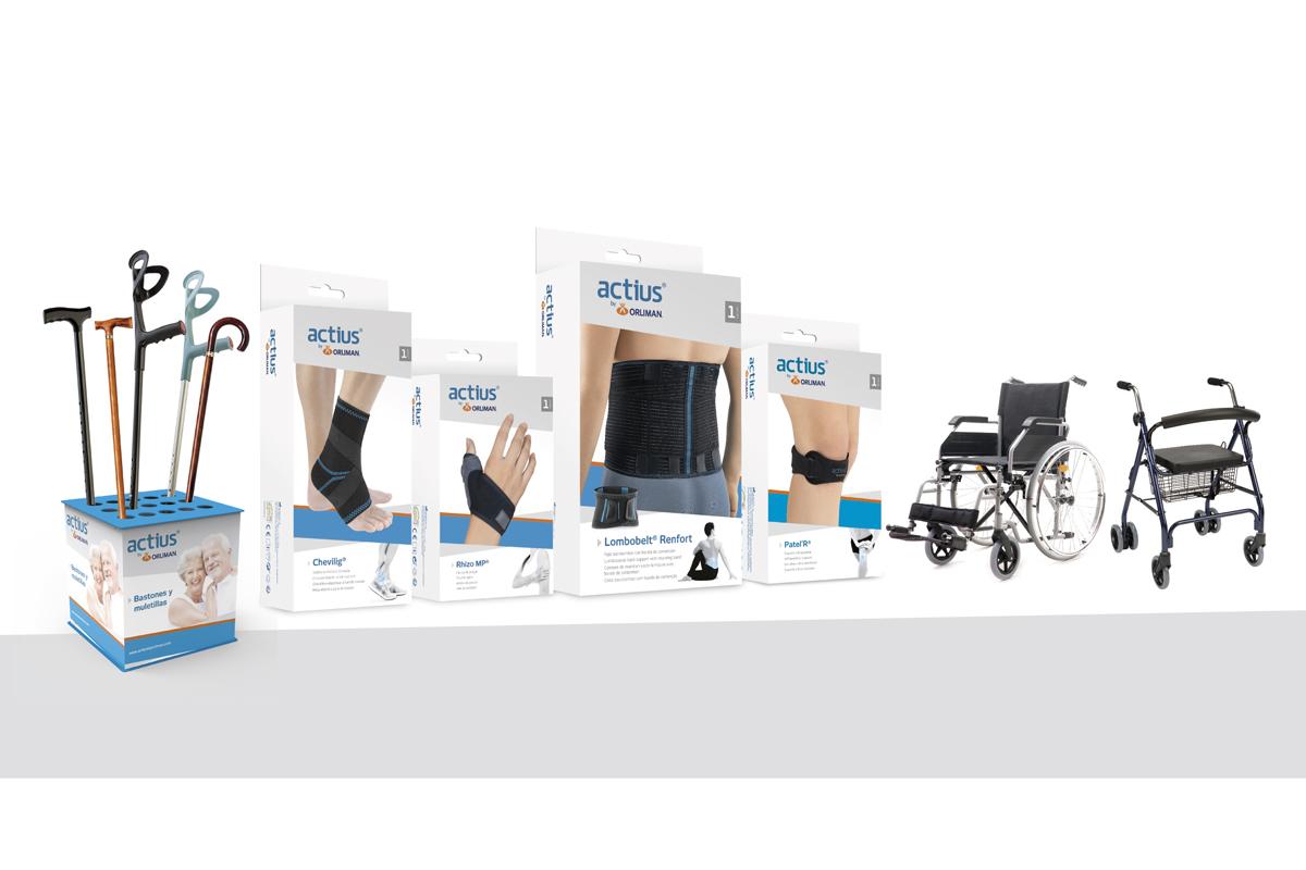actius by orliman la nueva gama de soportes ortsicos y ayudas tcnicas para la farmacia