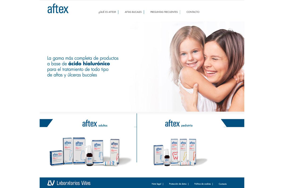 aftex presenta su nueva web