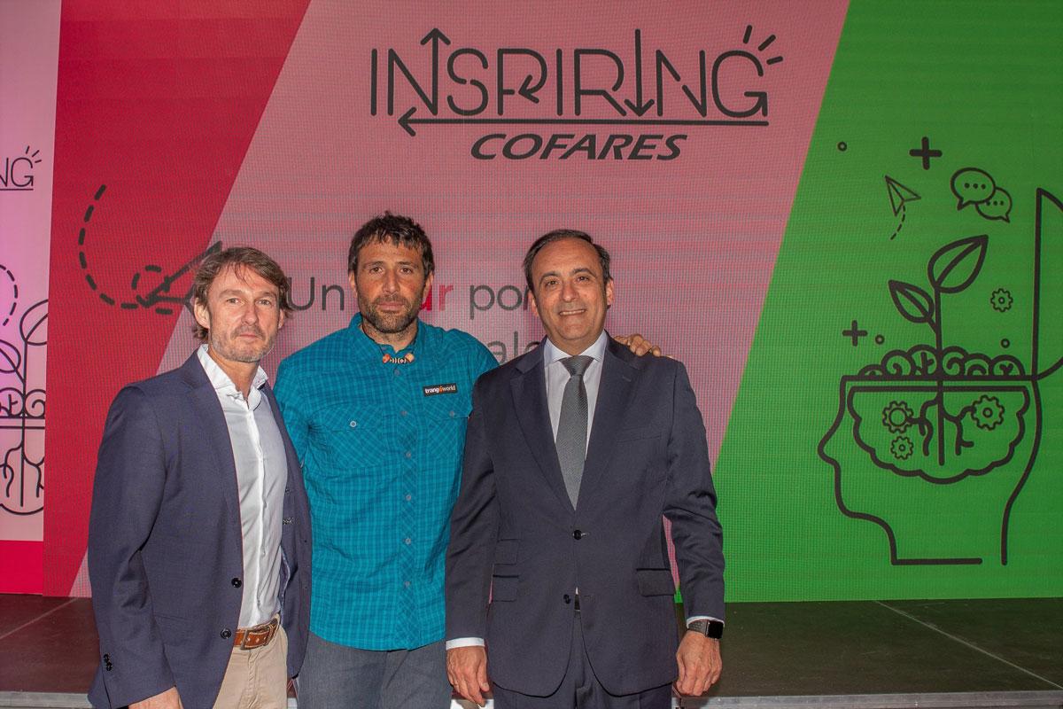el tour inspiring cofares hace parada en el pais vasco