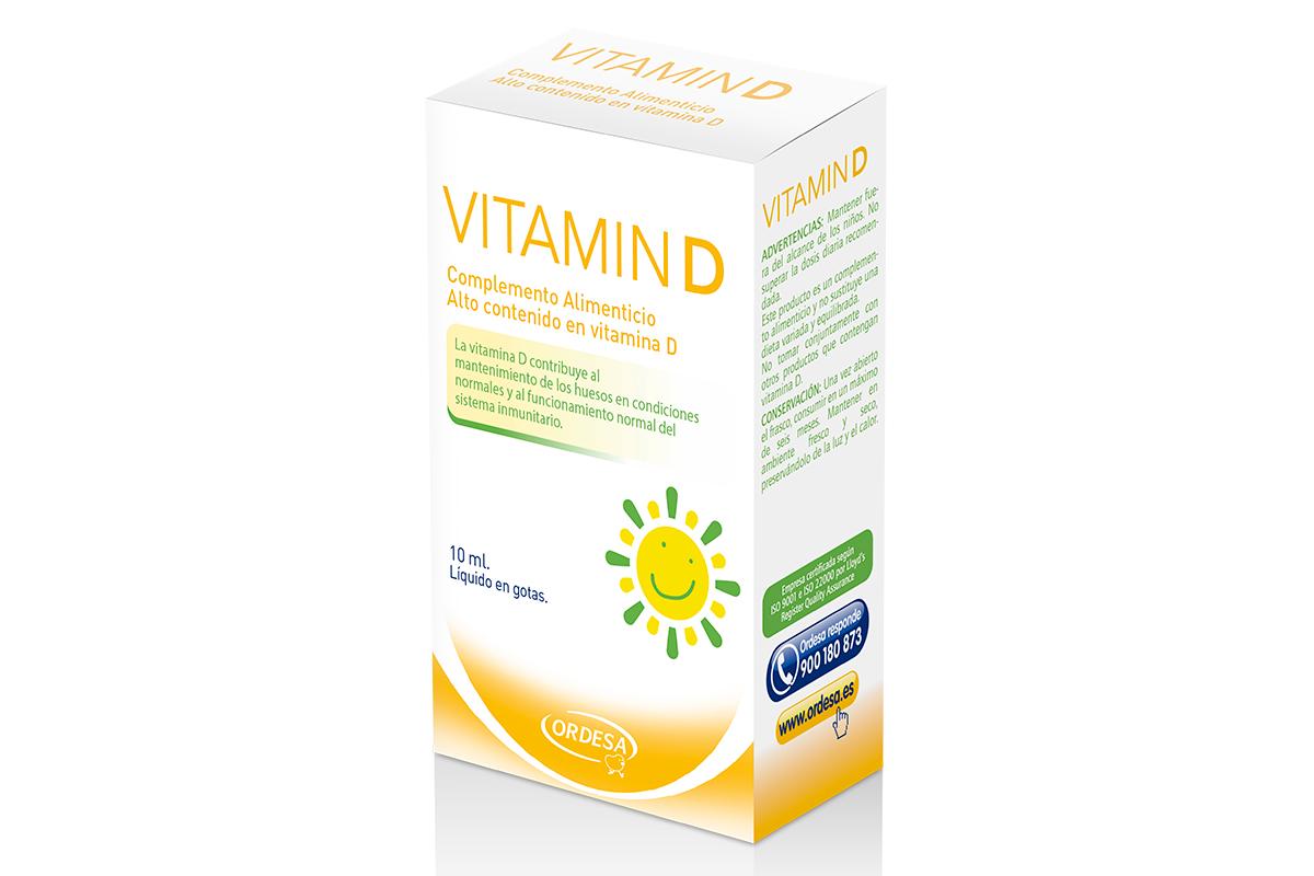 vitamin d se une a los complementos alimenticios peditricos de laboratorios ordesa