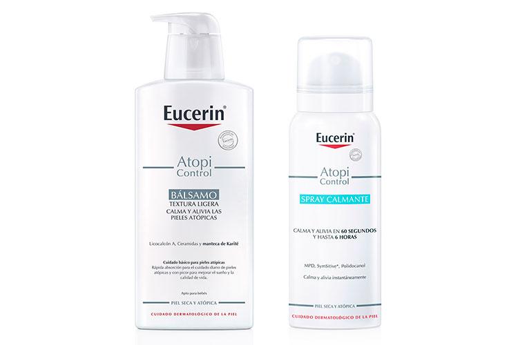 un blsamo y un spray calmante se unen a la gama atopicontrol de eucerinsupsup