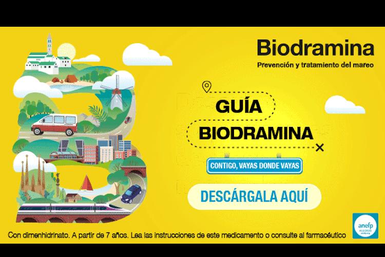 Biodramina muestra su apoyo al turismo nacional con el lanzamiento de una guía de viajes