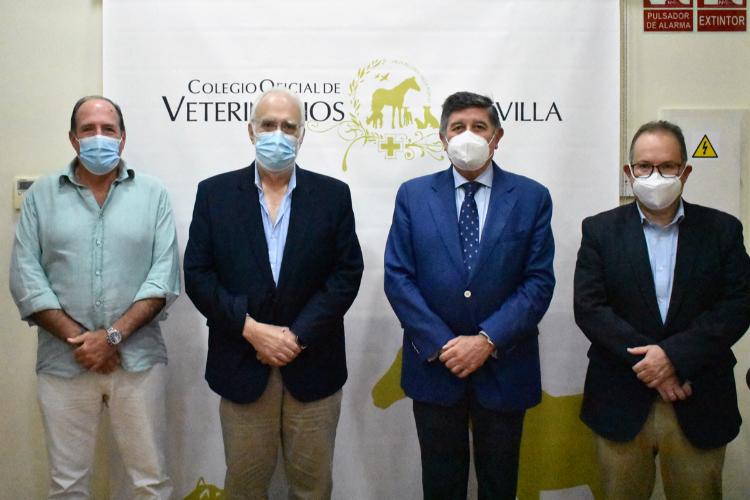 Farmacéuticos y Veterinarios de Sevilla abordan varias temáticas de interés común