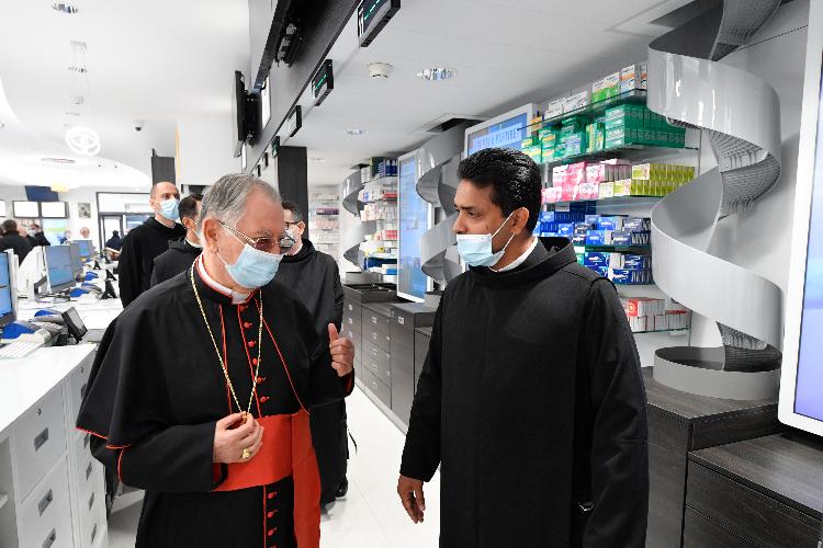 Inauguración de la Farmacia Vaticana, prevista para mayo pero aplazada por la emergencia sanitaria