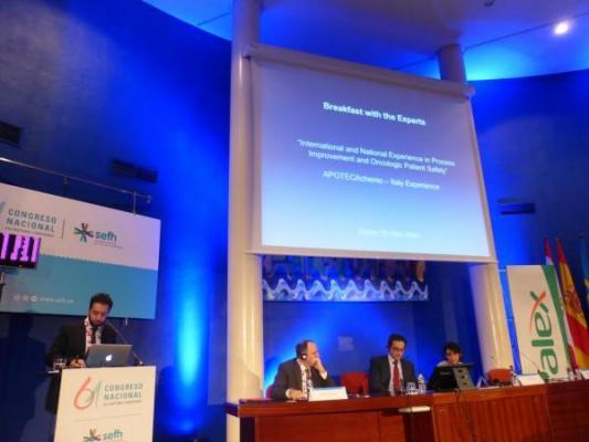 61congresosefh la robotizacioacuten farmaceacuteutica garantiza un alto nivel de seguridad en los tratamientos oncoloacutegicos