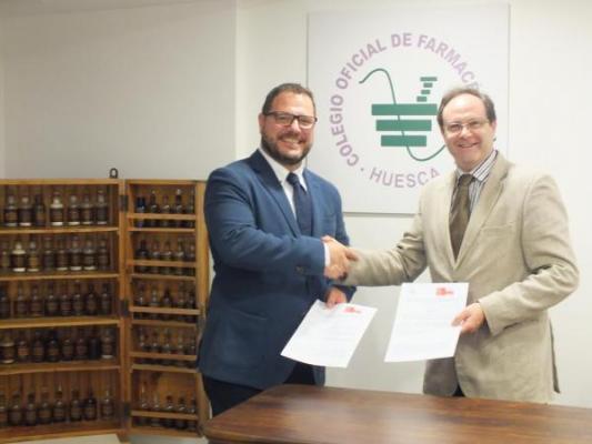 acuerdo sefaccof de huesca para desarrollar servicios profesionales farmaceuticos en las farmacias comunitarias
