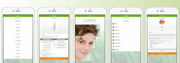 aderma desarrolla la app pieles fraacutegiles