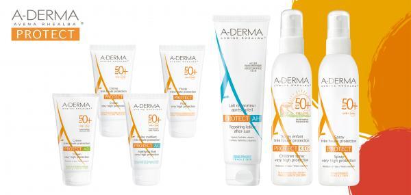 aderma protect la gama para que todas las pieles fraacutegiles disfruten del sol