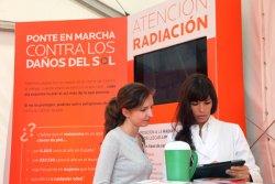 la aecc la aedv y los laboratorios la rocheposay presentan en barcelona su i campana de concienciacion solar