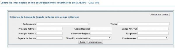 la aemps crea el centro de informacioacuten de medicamentos veterinarios