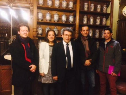 apotheka y el proyecto del futuro museo de farmacia de aragan