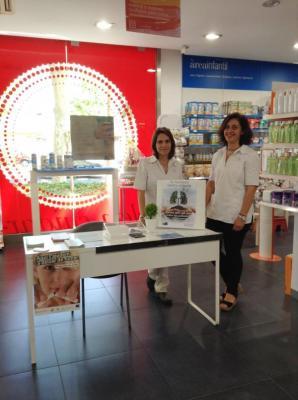arranca la iniciativa farmacias contra el humo de sefac en la semana del dia mundial sin tabaco
