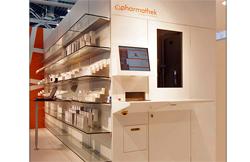 pharmathek presenta el robot ptksintesi en cosmofarma