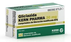 kern pharma lanza gliclazida para el tratamiento de la diabetes mellitus tipo ii