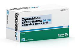 ziprasidona genarica de kern pharma