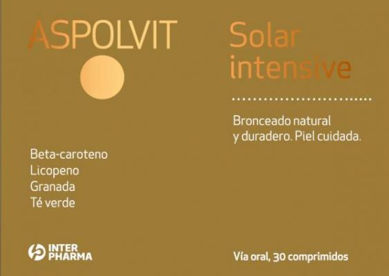 aspolvit solar intensive para broncear y cuidar la piel