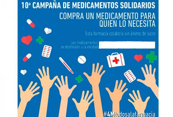 banco farmaceacuteutico se propone conseguir 60000 medicamentos en su 10ordf campantildea solidaria
