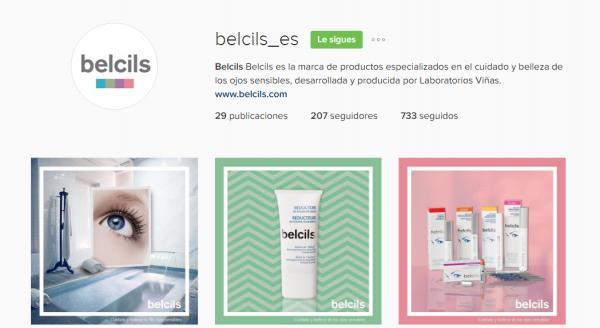 belcils abre perfiles en facebook twitter e instagram