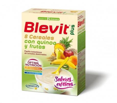blevit plus una nueva liacutenea de papillas con ingredientes como la quinoa la espelta o los daacutetiles