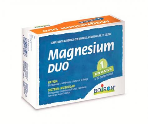 boiron lanza magnesium duo el complemento alimenticio de foacutermula uacutenica