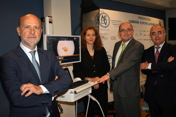 la campana del euromelanoma incide en la importancia de la prevencion y del diagnostico precoz