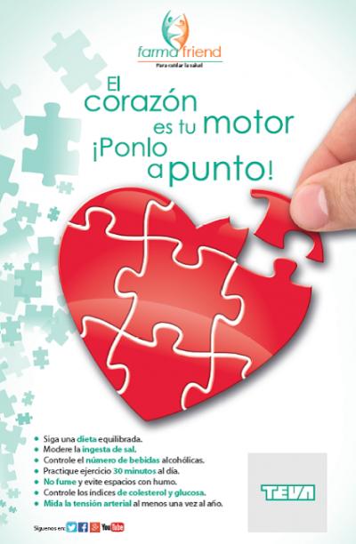 campaa de teva para implicar al farmacutico en la prevencin de enfermedades cardiovasculares
