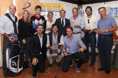 caritas recibe 4750 euros gracias al tercer torneo de golf solidario de cecofar