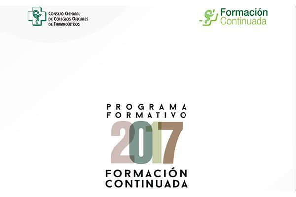 el cgcof publica el programa formativo 2017 de su plan nacional de formacioacuten continuada