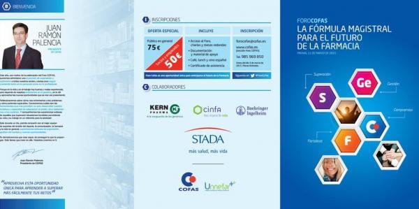 cofas celebra su v foro centrado en el futuro de la farmacia