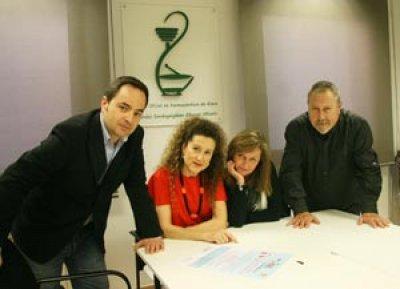 el colegio de farmaceuticos de alava colabora con el dia mundial del rinon