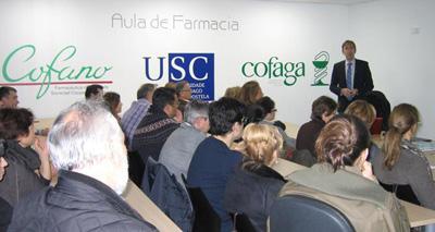 conferencia de farmaconsulting  impulsada por cofaga y cofano sobre la evolucian del precio de farmacia