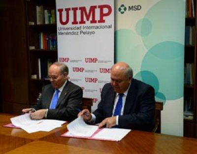 convenio de la uimp y msd para la creacin de una ctedra de salud crecimiento y sostenibilidad